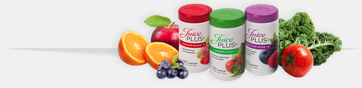 Juice+ healthy juice blends