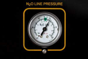 gauge for nitrous oxide gas